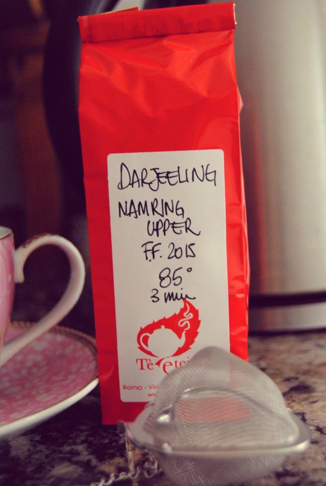 dettaglio tè darjeeling