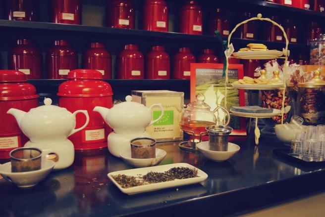 degustazione di tè darjeeling