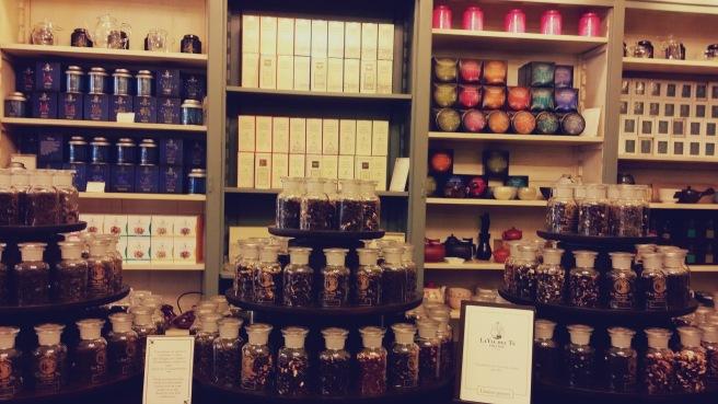 negozio di tè