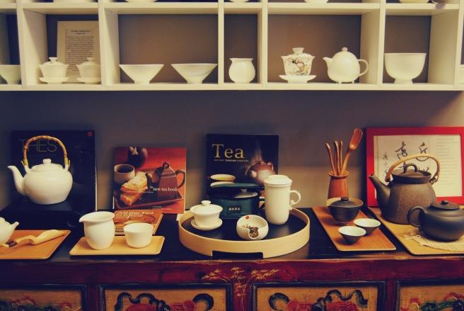 teiere in ceramica