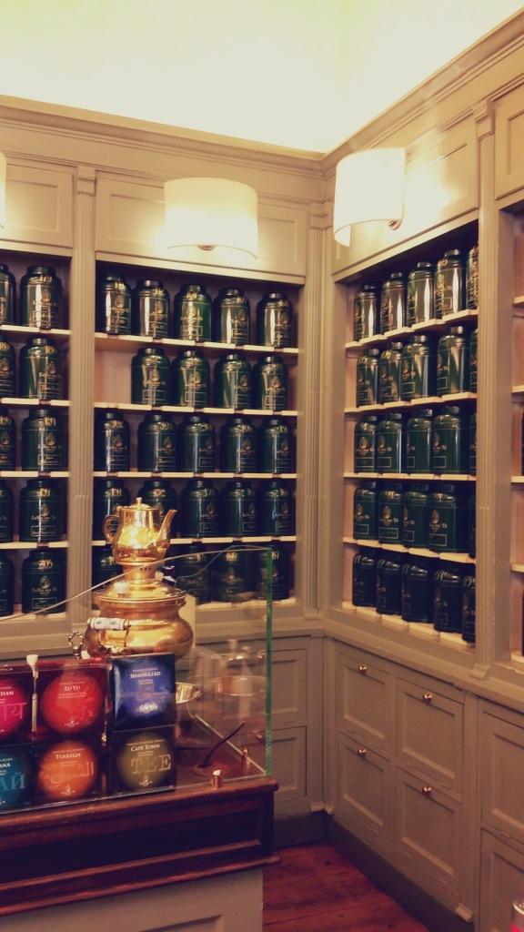 negozio la via del tè