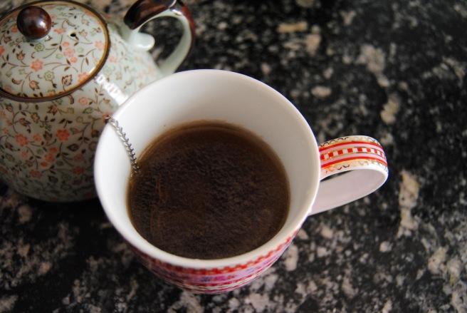 tè in infusione