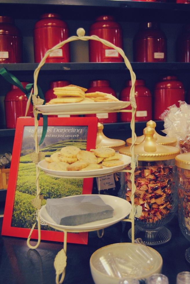 biscotti al darjeeling