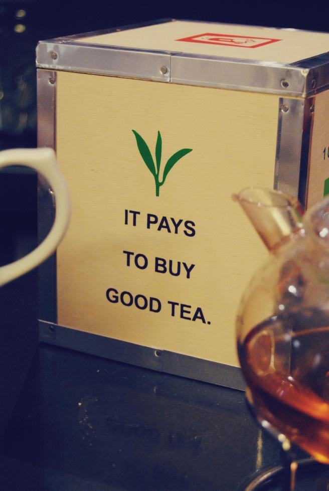 scatola di tè